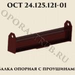 Балка опорная с проушинами ОСТ 24.125.121-01