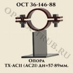 Опора ТХ-АС11; АС21 ОСТ 36-146-88