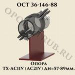 Опора ТХ-АС11У; АС21У ОСТ 36-146-88