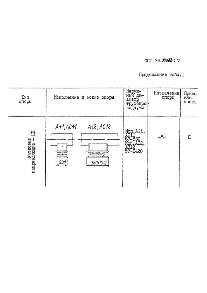 Опоры КН ОСТ 36-146-88 стр.1
