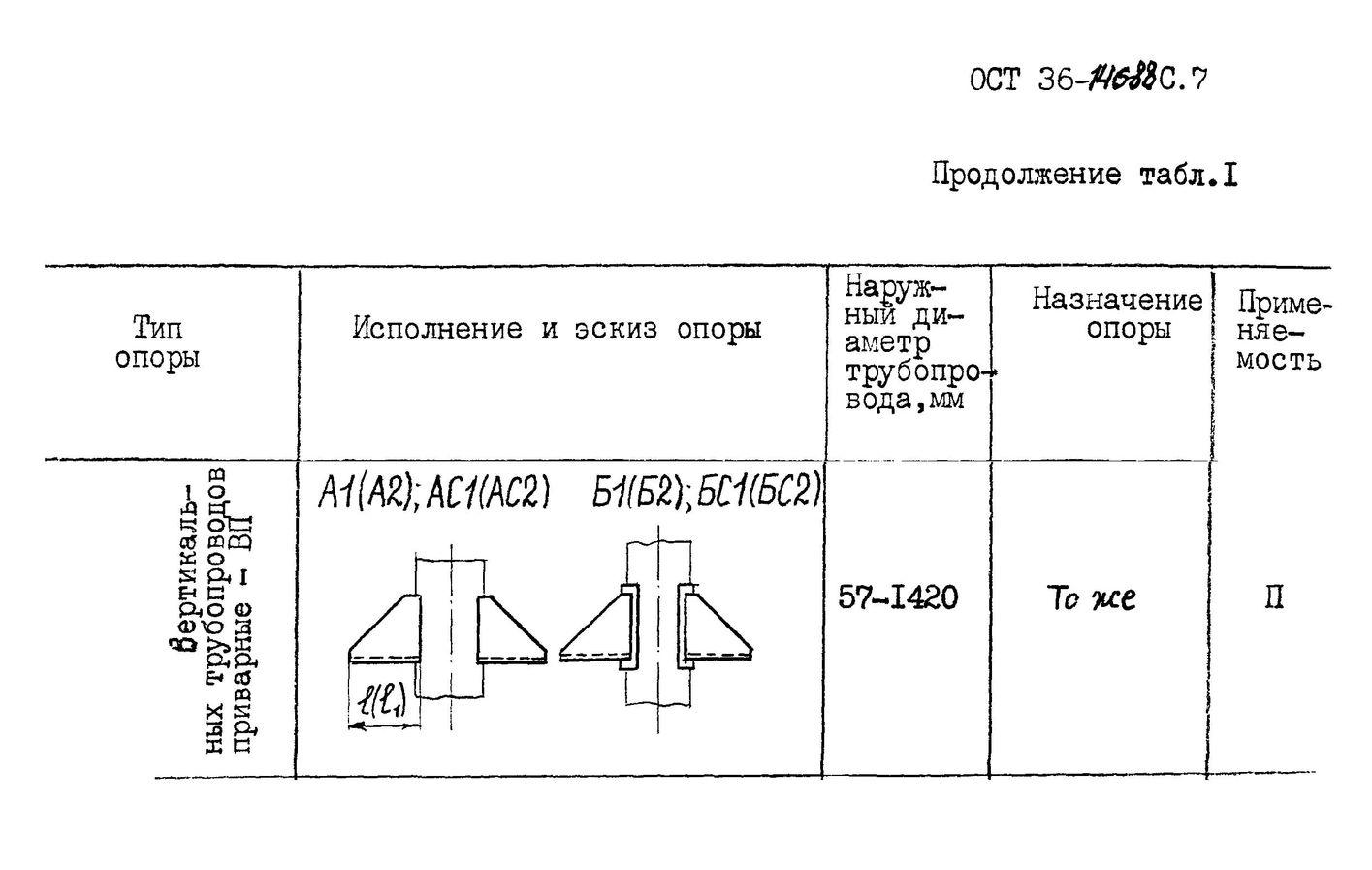 Опоры ВП ОСТ 36-146-88 стр.1