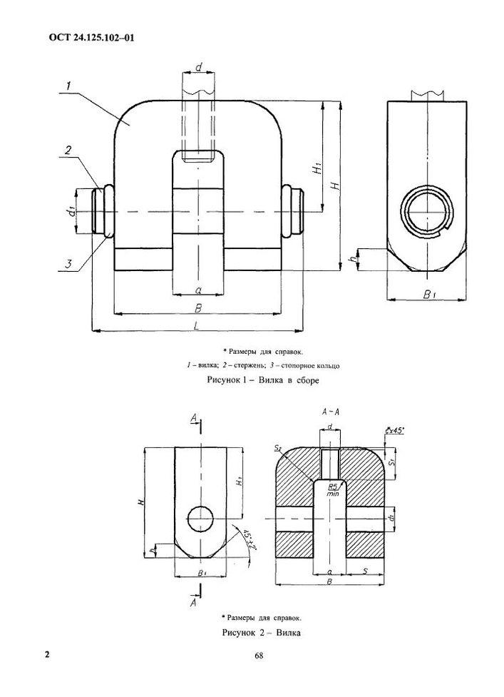 Вилки ОСТ 24.125.102-01 стр.2