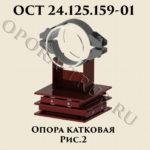 Опора катковая рис.2 ОСТ 24.125.159-01