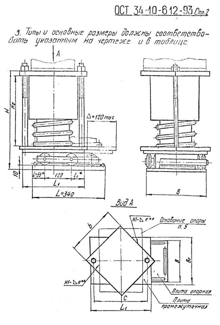 Блок катковый пружинный ОСТ 34-10-612-93 стр.2