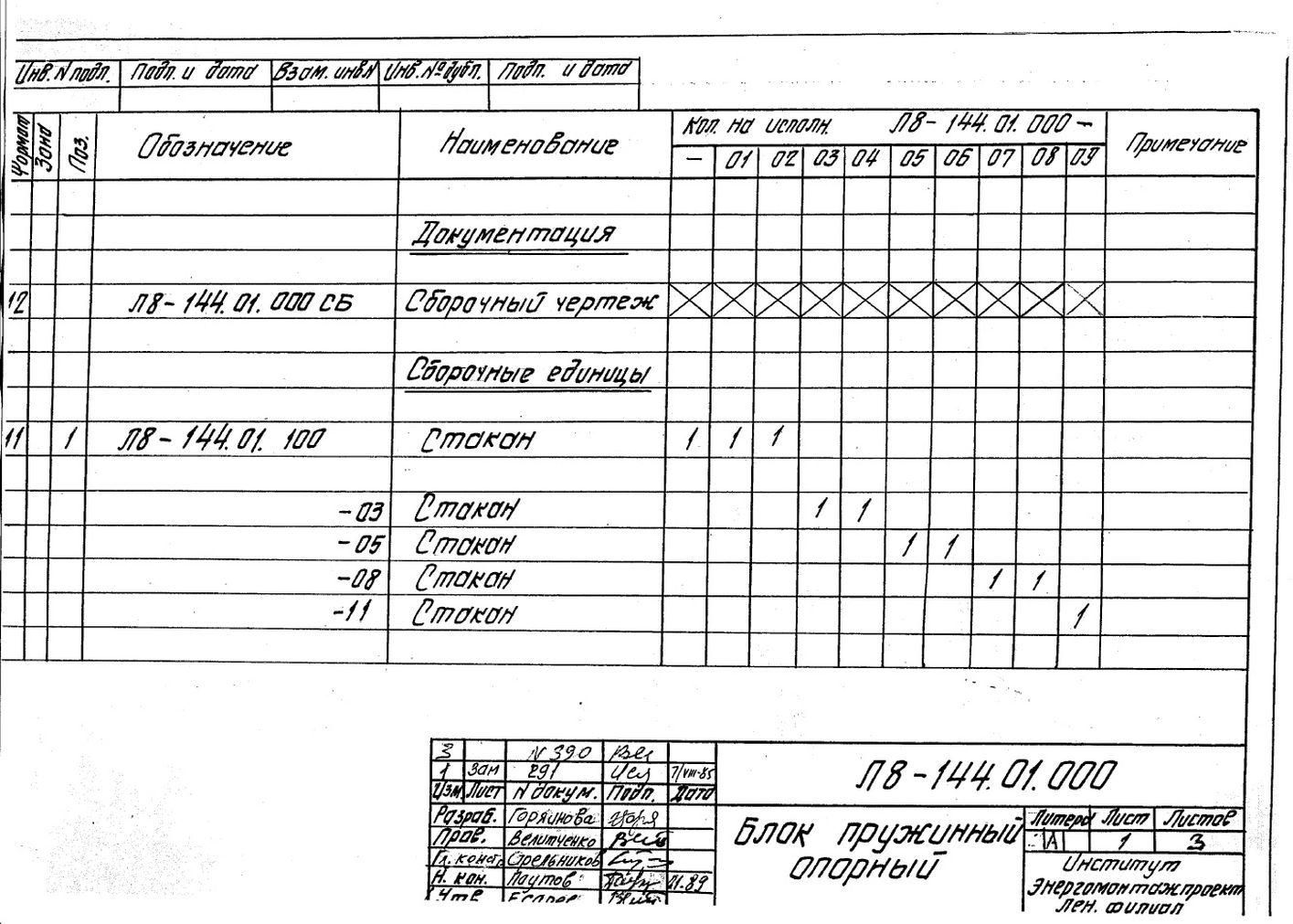 Блок катковый пружинный Л8-144.000 стр.5