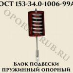 Блок подвески пружинный опорный ОСТ 153-34-1006-99А