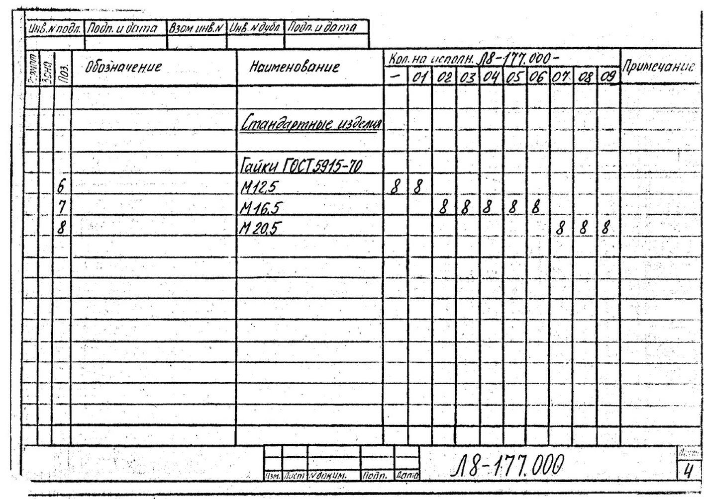 Блок пружинный Л8-177.000 стр.6