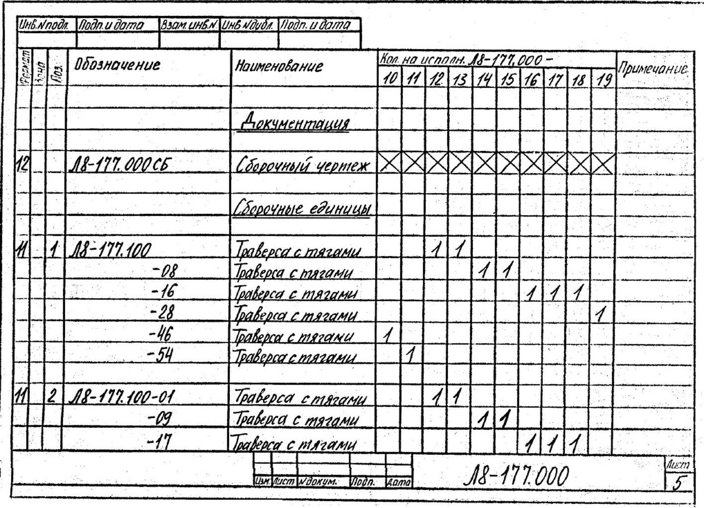 Блок пружинный Л8-177.000 стр.7
