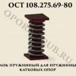 Блок пружинный ОСТ 108.275.69-80 рис.1