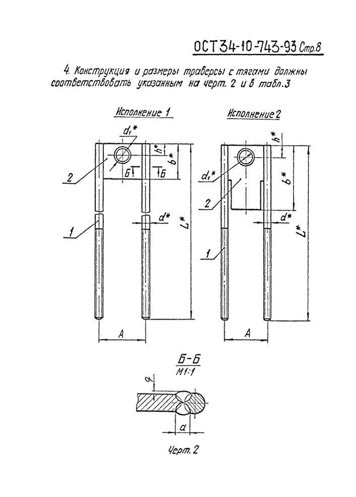 Блоки пружинные ОСТ 34-10-743-93 стр.8