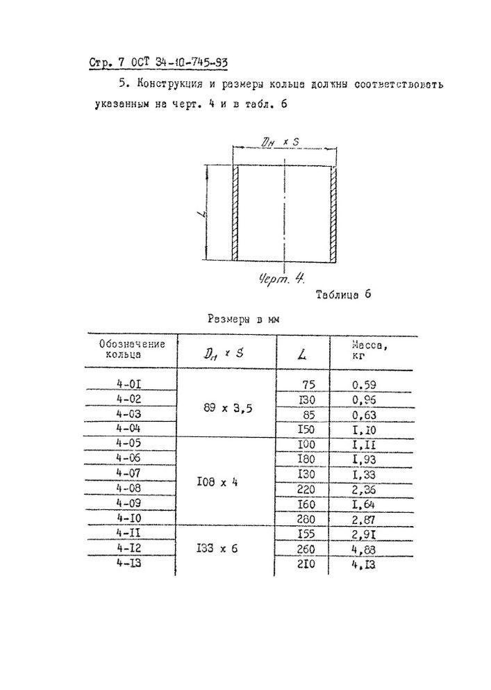 Блоки пружинные опорные ОСТ 34-10-745-93 стр.7