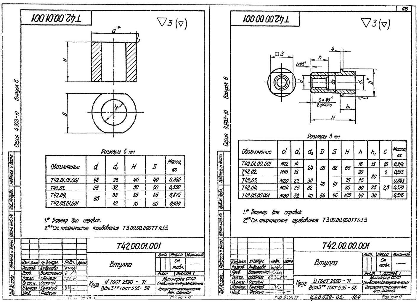 Разгружающее устройство для блоков пружин Т42.00.00.000 стр.4