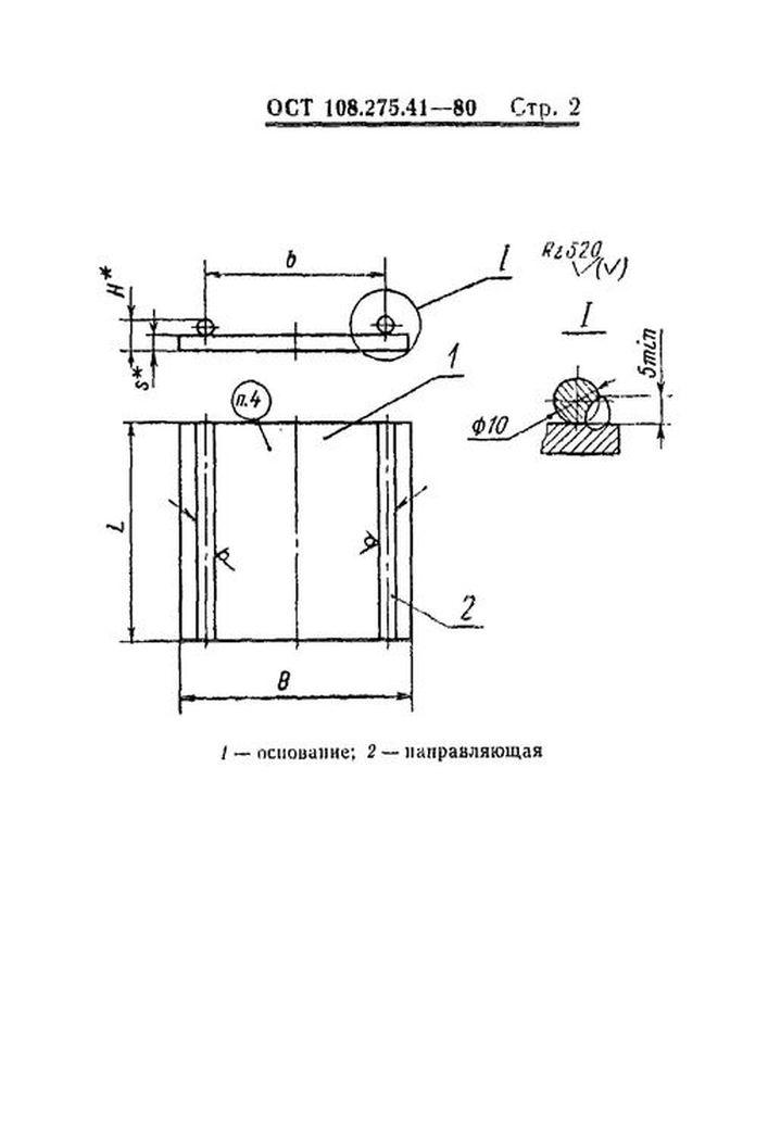 Плиты направляющие ОСТ 108.275.41-80 стр.2