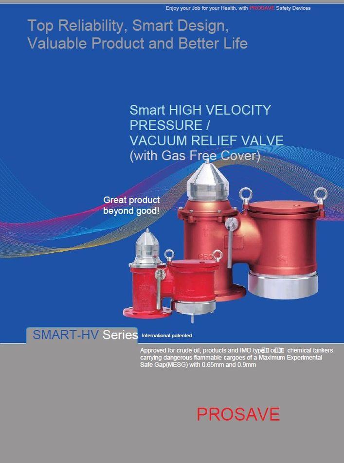Высокоскоростные клапаны сброса давления вакуума SMART-HV PROSAVE стр.1