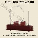 Блок приварной с опорной балкой ОСТ 108.275.62-80
