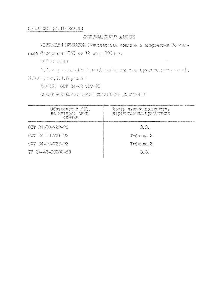 Блоки подвесок приварные для вертикальных трубопроводов ОСТ 34-10-727-93 стр.9