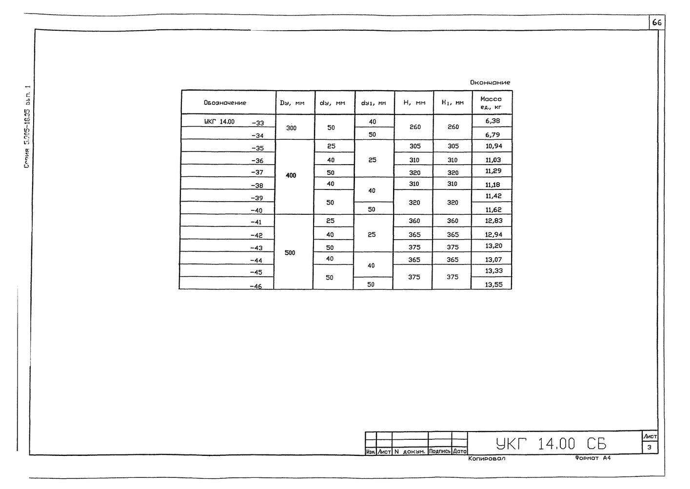 Крепление 2х (двух) вспомогательных газопроводов к основному УКГ 14.00 СБ серия 5.905-18.05 выпуск 1 стр.3