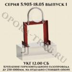 Крепление УКГ 12.00 СБ серия 5.905-18.05 выпуск 1