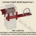 Крепление УКГ 4.00 СБ серия 5.905-18.05 выпуск 1