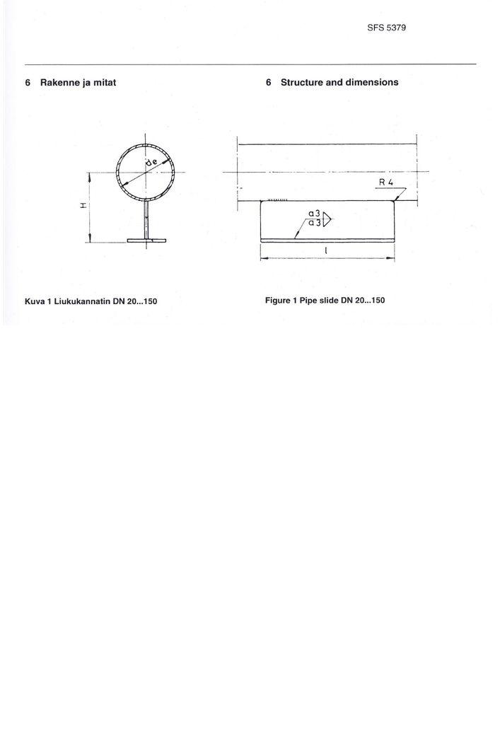 SFS 5379 Опоры приварные DN 20-500 стр.1