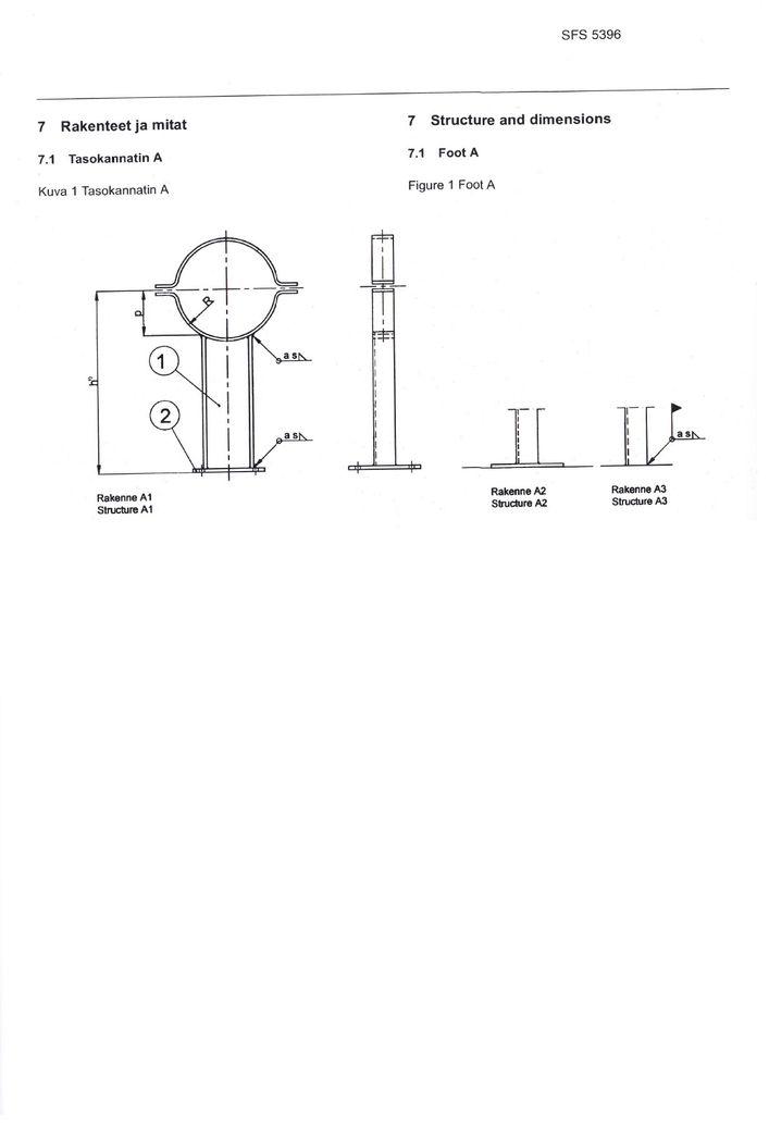 SFS 5396 Стойки опорные DN 50-500 стр.1