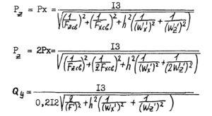 Расчет на прочность опор стальных технологических трубопроводов на Ру до 10 МПа рис.2